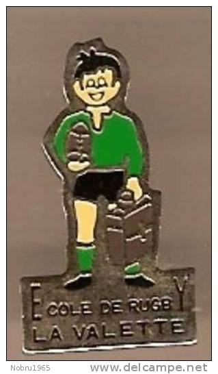 Pin's  école De Rugby La Valette ( 83 Var ) - Rugby