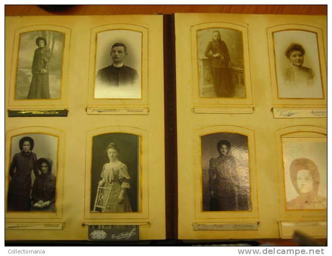 DOKKUM BURGER Akke Brouwer Salvation Army ALBUM CDV Photo REAL - Vóór 1900 LEGER DES HEILS , Heilsarmee .. INDIA - Nederland