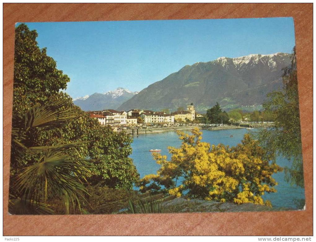ASCONA VEDUTE COLORI VG - TI Ticino