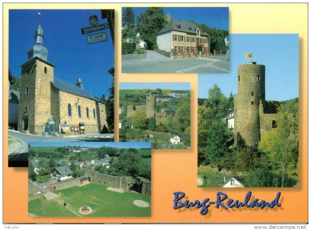 Burg Reuland - Multi Vues - Burg-Reuland