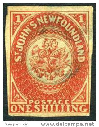 Newfoundland #9 Used 1sh From 1857 - 1857-1861