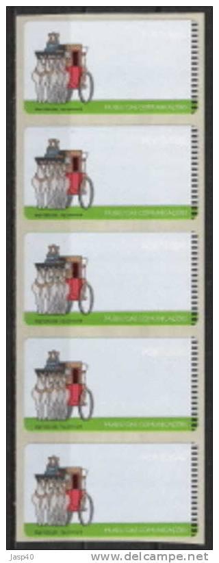 PORTUGAL ATM AFINSA 17 - BLOCO 5 ATM SEM FRANQUIA - Vignette Di Affrancatura (ATM/Frama)