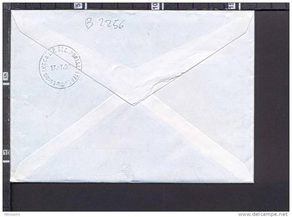 B2256 Storia Postale ITALIA 1990 LIRE 1500 CASTELLI RACCOMANDATA PECCIOLI PISA - 6. 1946-.. Repubblica