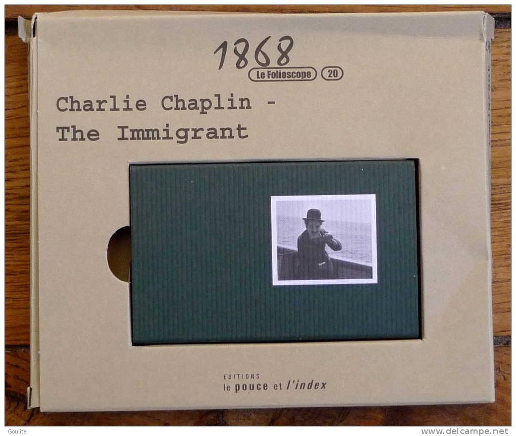Flip Book - Charlie  Chaplin -  The Immigrant - Folioscope  - Série Limitée - Livres, BD, Revues