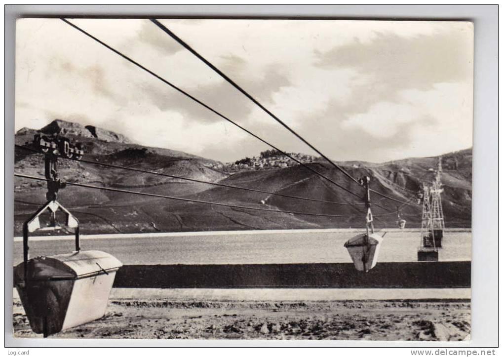 CAMPOFRANCO STABILIMENTO MONTECATINI 1963 - Caltanissetta