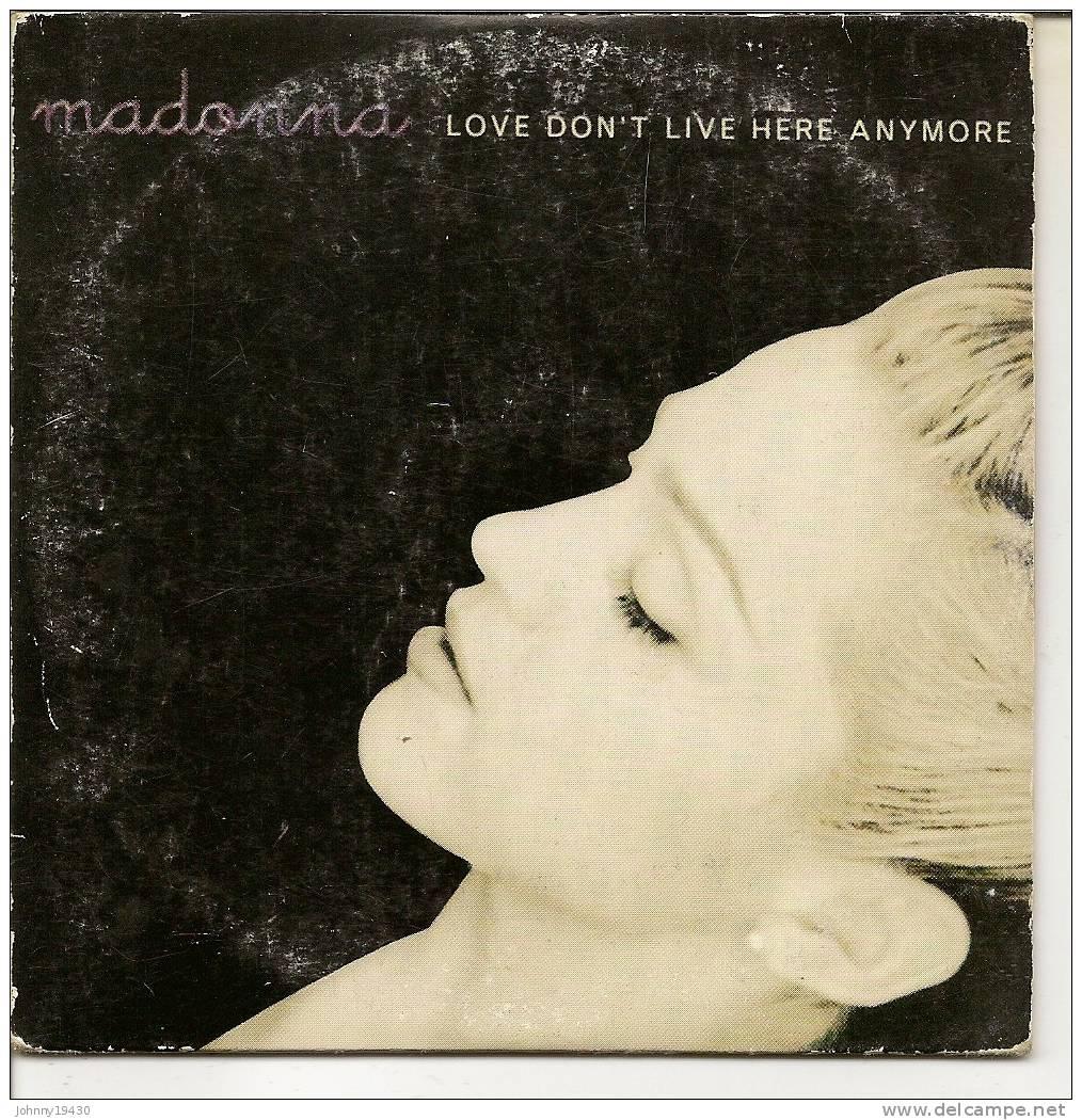 "CD  MADONNA   "" LOVE DON'T LIVE HERE ANYMORE "" + "" ALBUM REMIX EDIT ""  + "" SOULPOWER RADIO REMIX "" + "" ALBUM REMIX "" - Music & Instruments"