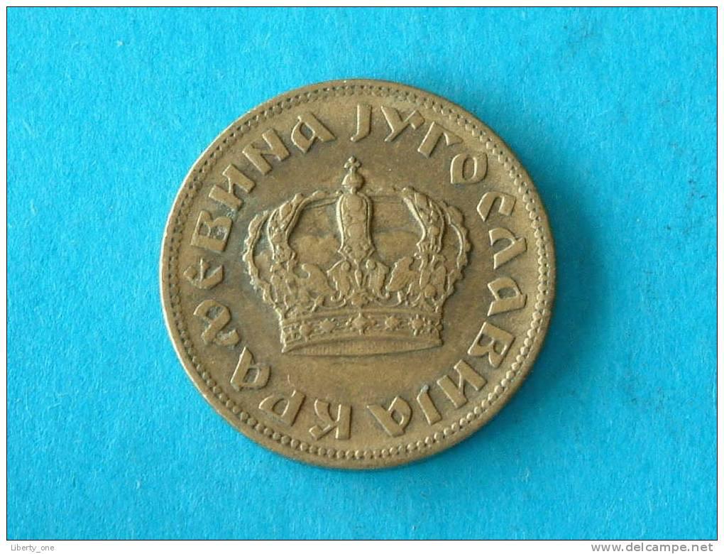 1 DINAR - 1938 / KM 19 ( For Grade, Please See Photo ) !! - Joegoslavië