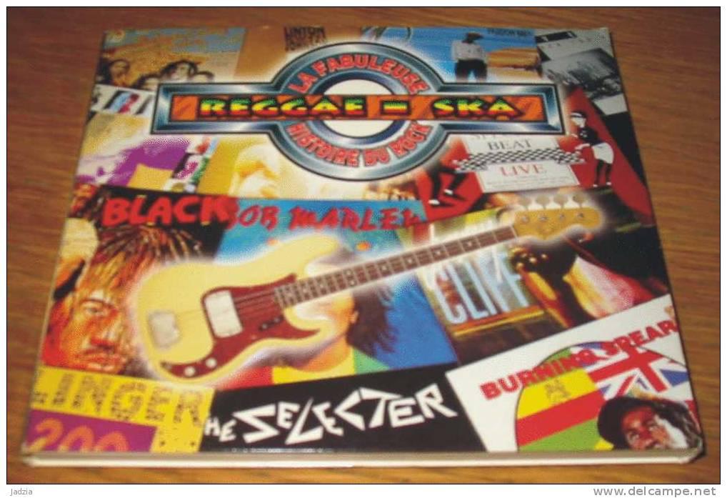 CD La Fabuleuse Histoire Du Rock + 1 Livret Reggae - Ska 1995 Pochette Cartonnée 19 Titres - Compilations