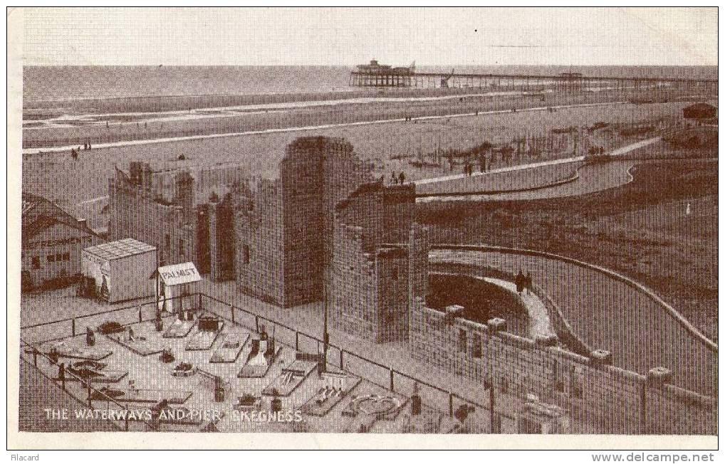4525   United Kindom     The Waterways  And Pier  Skegness  VG 1946 - Inghilterra