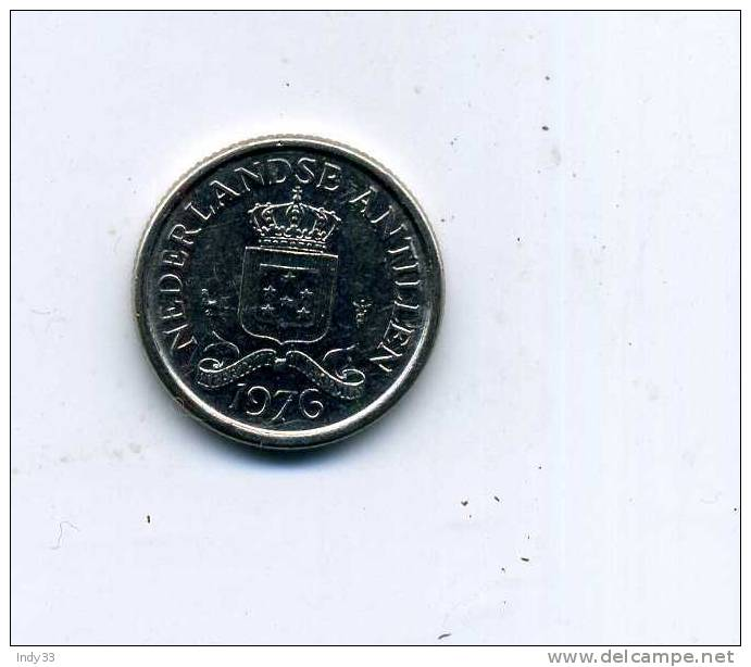 - MONNAIE PAYS BAS COLONIES . ANTILLES NEERLANDAISES. 10 CENT .1976 - [ 4] Colonies