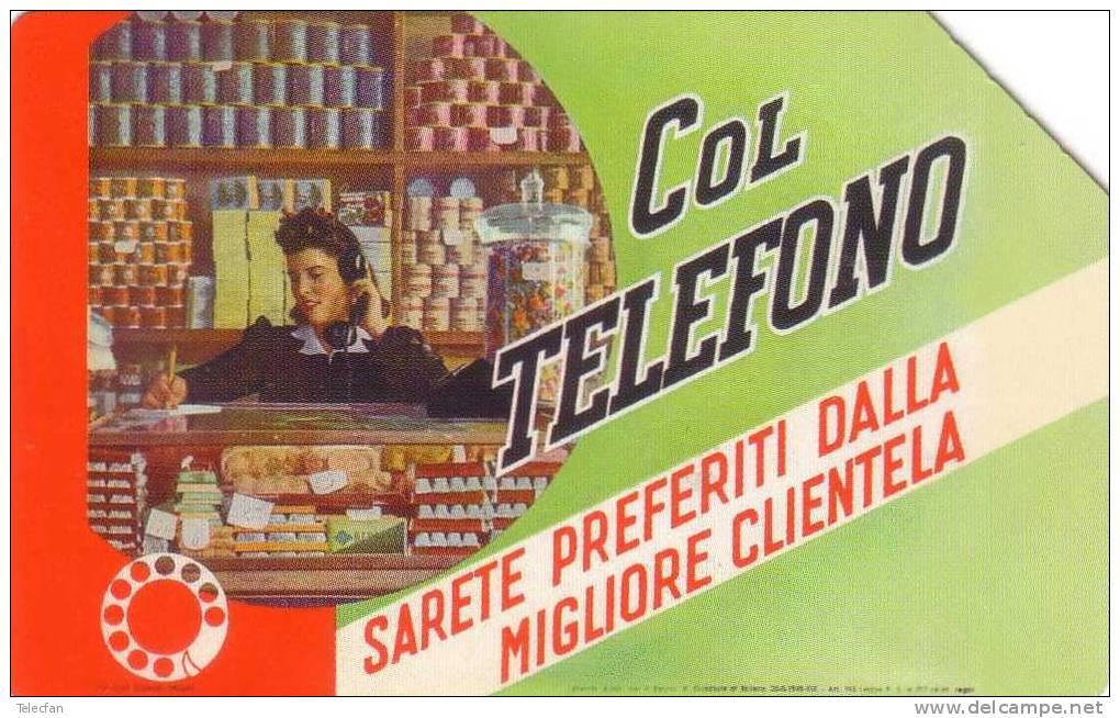 ITALIE COL TELEFONO 210000 EX RARE MAGNETIQUE - Italia