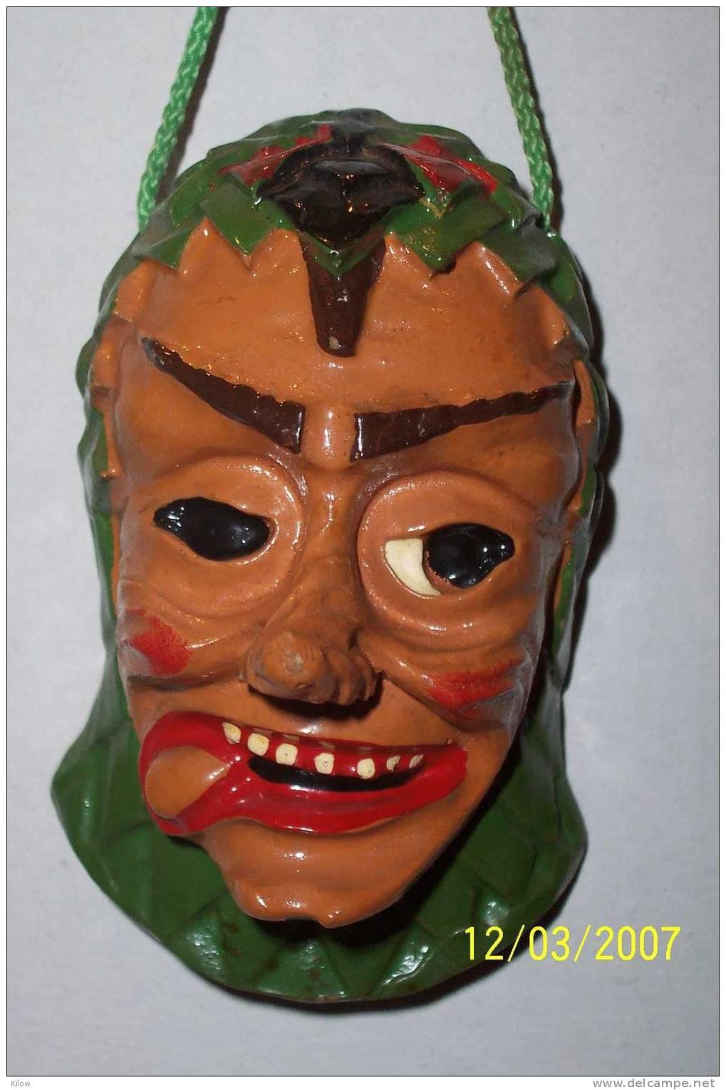 Miniatur-Maske Bohrer Freiburg - Carnaval