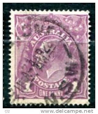 AUSTRALIE - Y&T 21 - 20% De La Cote - 1913-36 George V : Heads