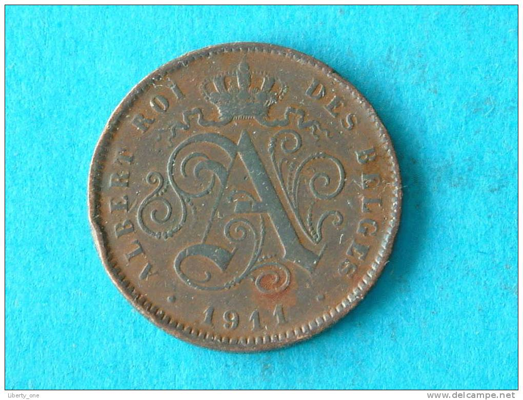 1911 FR - 2 CENT ( Morin 310 / Details Zie Foto ) ! - 1909-1934: Albert I