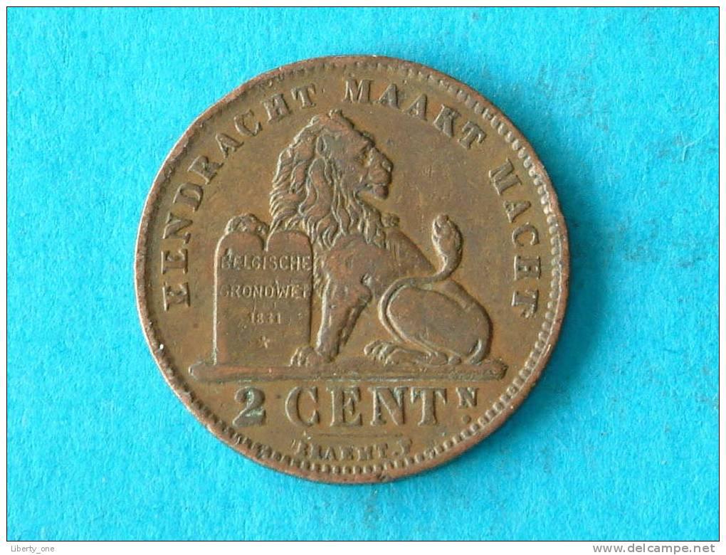 1911 VL - 2 CENT ( Morin 311 / Details Zie Foto ) ! - 02. 2 Centimes