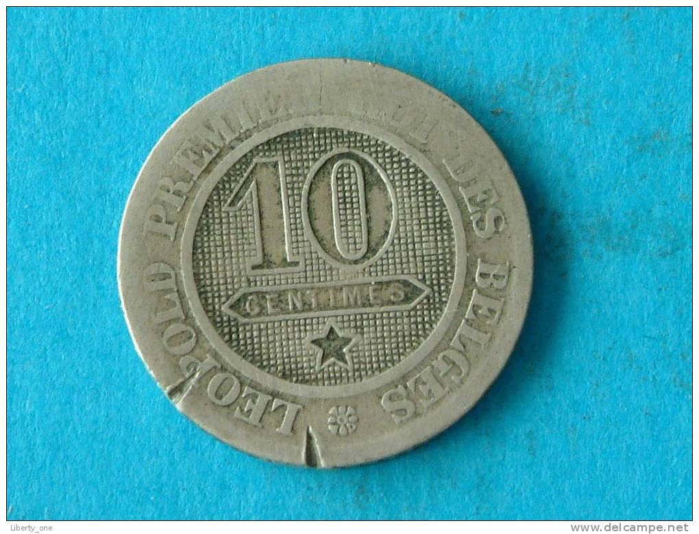 1862 FR - 10 CENT ( Morin 134 / Details Zie Foto ) ! - 1831-1865: Léopold I