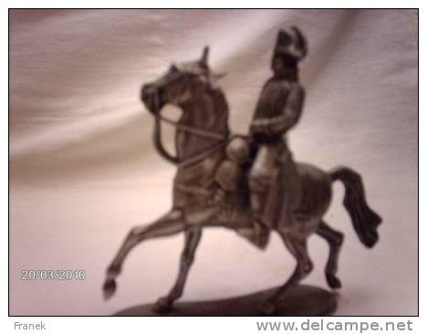NAPOLEON 1er Sur Son Cheval, Lors De La Bataille D'Austerlitz - Armee