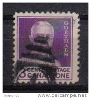 Panma-Kanalzone-1934-20 J.Eröffnung(96 A)gestempelt,o - Briefmarken
