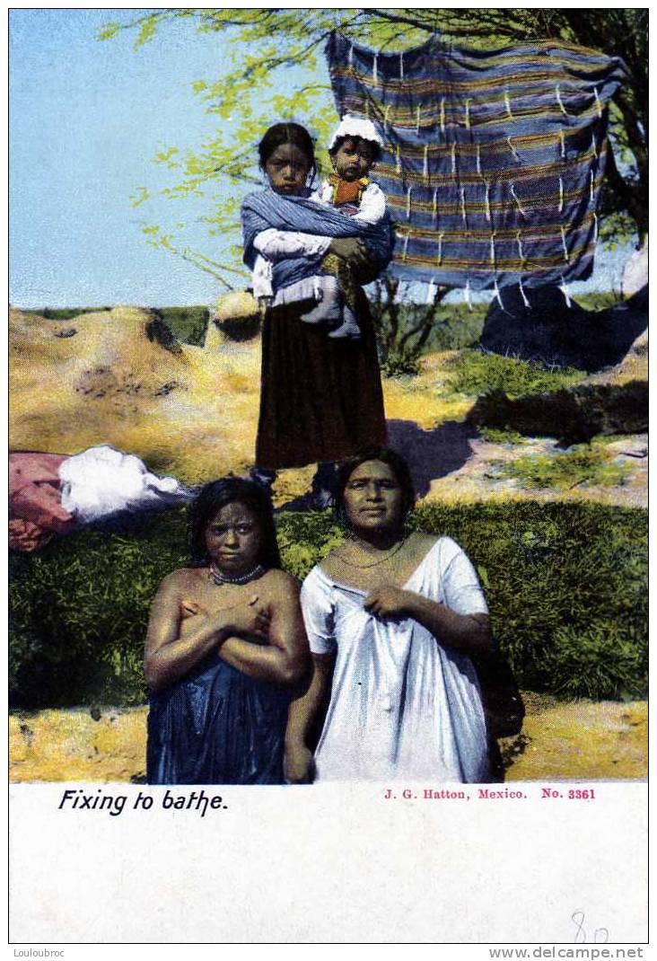MEXIQUE FIXING TO BATHE - Mexique