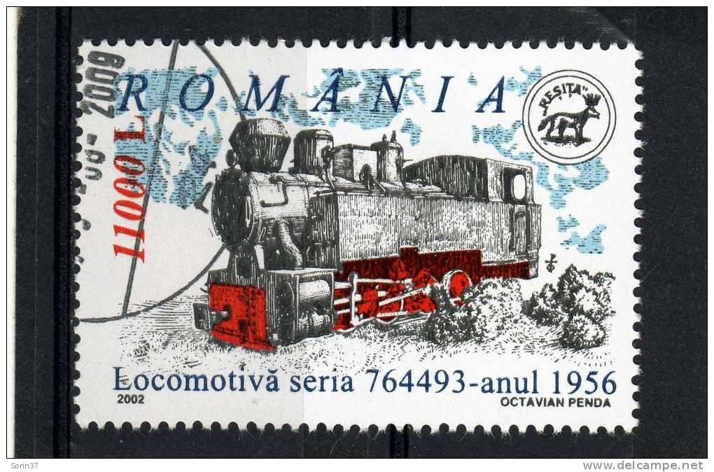 Sello De Romania Año 2002  Usado - Usado