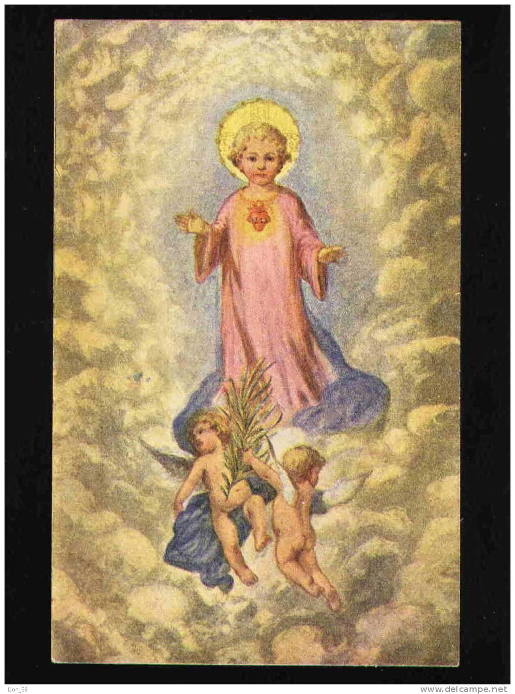 CORAZÓN DE JESÚS , HEART OF JESUS , C?ur De Jésus Hart Van Jezus / Series 202 F.H.&S., W. Pc 20192 - Angeles