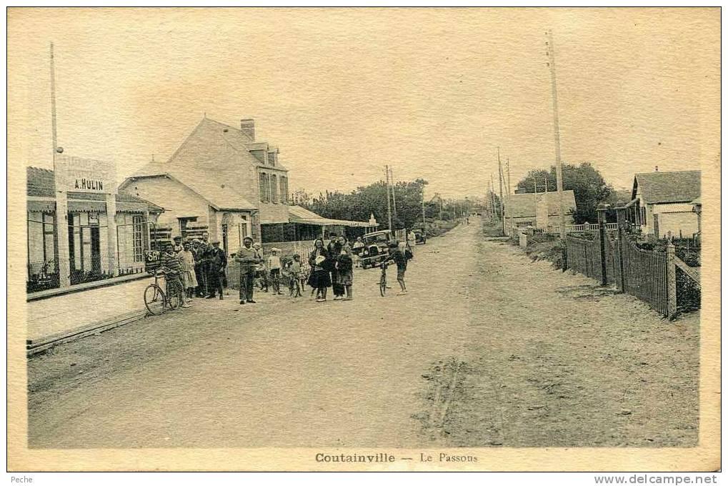 N°4800 -cpa Coutainville -Le Passous- - Autres Communes