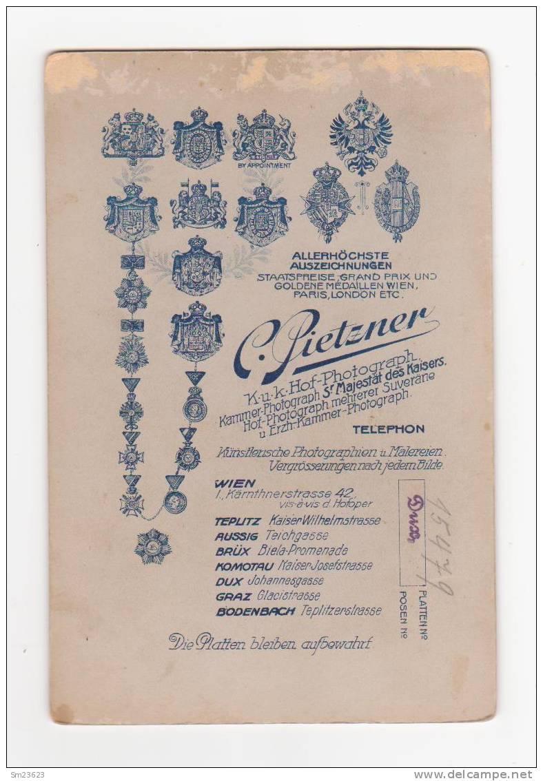 Liebe Ist ...wenn Man Heiratet - K.u.K. Hof-Photograpf , Kammer-Photogr. S´Majestät Des Kaisers -ca.16,5 X 10,5 Cm - Photographs
