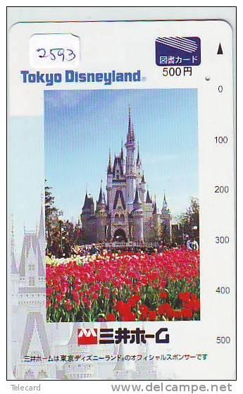 Télécarte DISNEY Japon (2593) JAPAN * PHONECARD * TELEFONKARTE - Disney