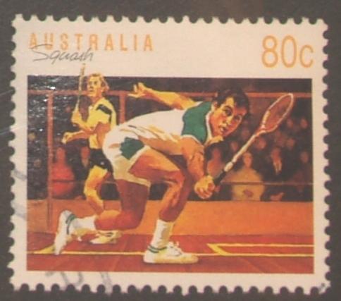 Australia 1989 Sports 80c Squash Used - 1980-89 Elizabeth II