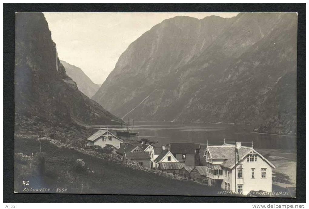 NY188) Gudvangen I Sogn - 1907 - Real Photo By K. Knudsen - Norvège