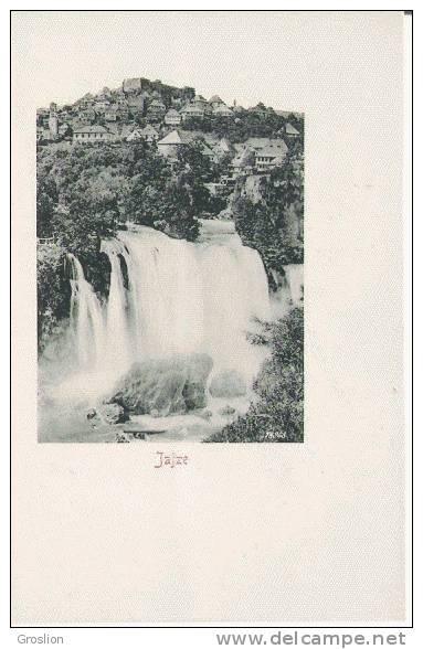 JAJZE 78968 (VUE AVEC CASCADE ) - Bosnie-Herzegovine