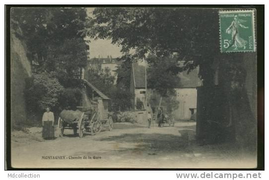 70 MONTAGNEY / Chemin De La Gare / - Ohne Zuordnung