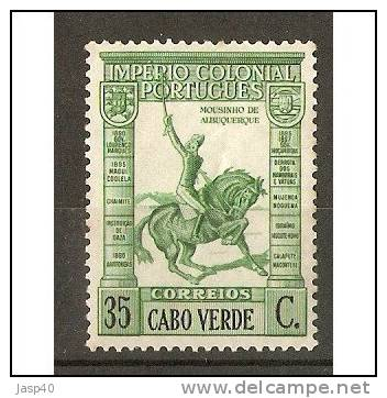 CABO VERDE AFINSA 224 - NOVO COM CHARNEIRA - MH - Isola Di Capo Verde