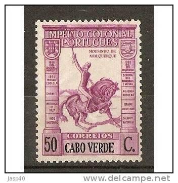 CABO VERDE AFINSA 226 - NOVO COM CHARNEIRA - MH - Isola Di Capo Verde