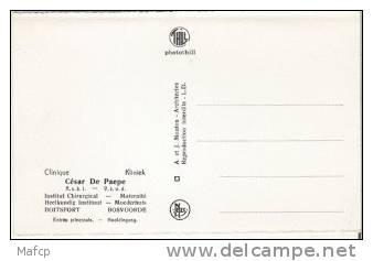 WATERMAEL-BOITSFORT  - Clinique César De Paepe - Entré Principale - Santé, Hôpitaux
