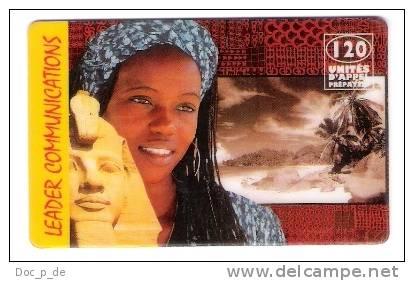 France - Leader Communications - Prepaid Card - Girl Egypt - 120 Units - Exp. Date 31.10.1998 - Frankreich