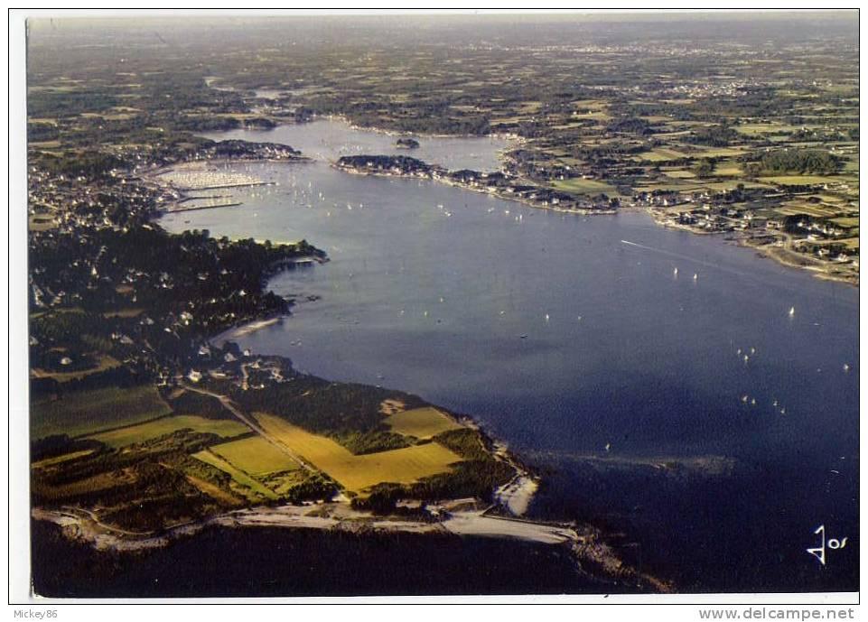 La Trinité Sur Mer -datée 1988- Vue Générale Aérienne Sur La Rivière De La Trinité Cpm N° V 1923  éd  JOS - La Trinite Sur Mer