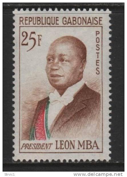 Gabon, Scott # 162 Mint Hinged Mba, 1962 - Gabon