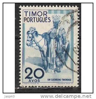 TIMOR AFINSA 266 - USADO - Timor