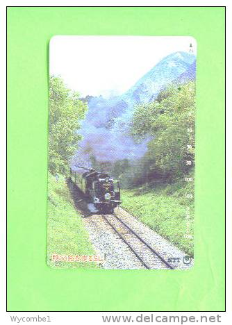 JAPAN - Magnetic Phonecard/Train - Trains
