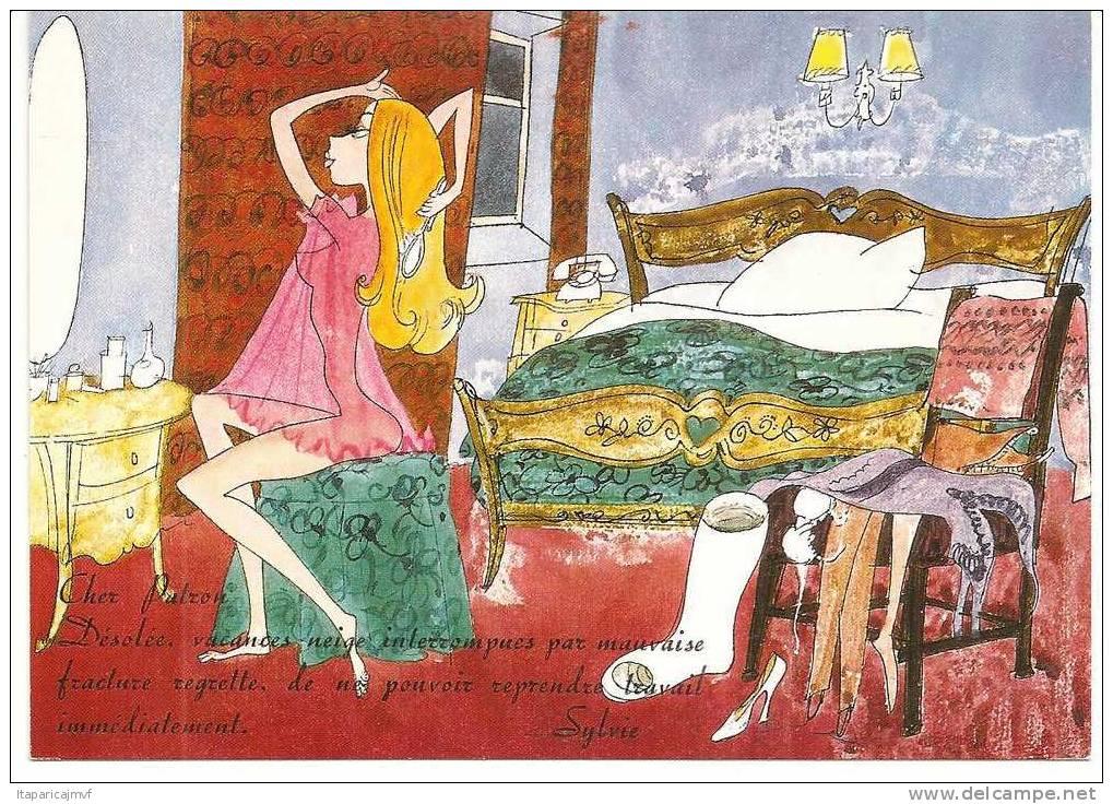 Alpes De Haute  Provence  :  Posté  A BARCELONNETTE  1979  Sylvie - Barcelonnette