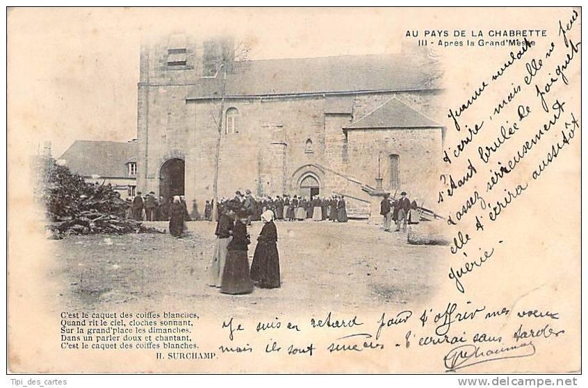 19 - Vigeois - Après La Grand'Messe - Non Classés