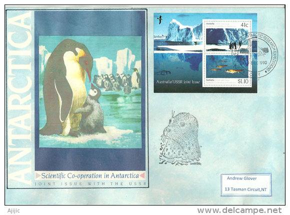 Recherches Glaciologiques De La Banquise. Base Davis. BF Antarctique Australien. - Geology