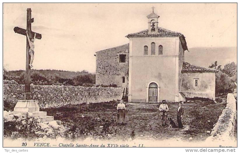 06 - Vence - Chapelle Sainte-Anne (du XVIIe Siècle) - Vence