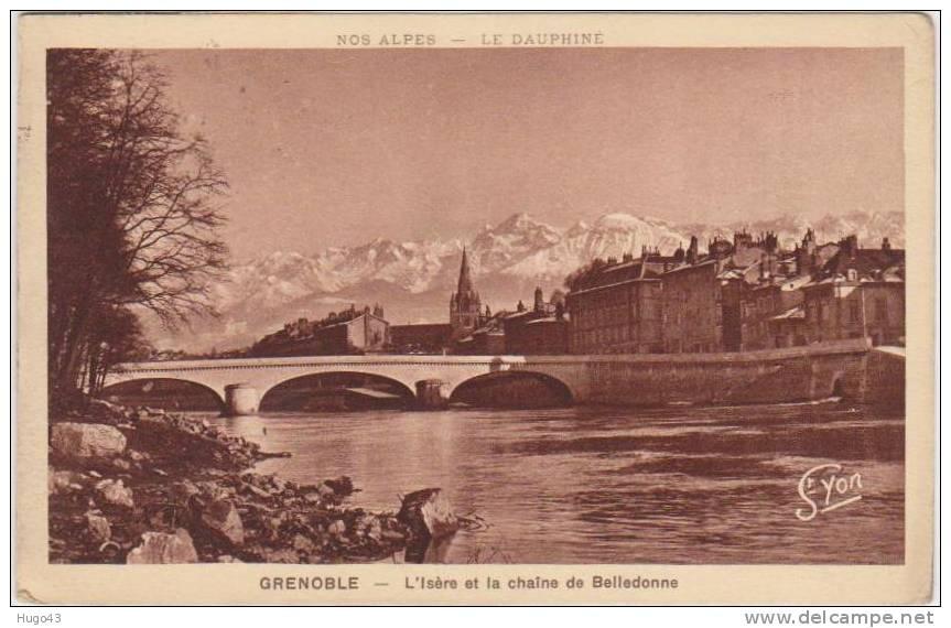 GRENOBLE  (RECTO/VERSO) - Grenoble