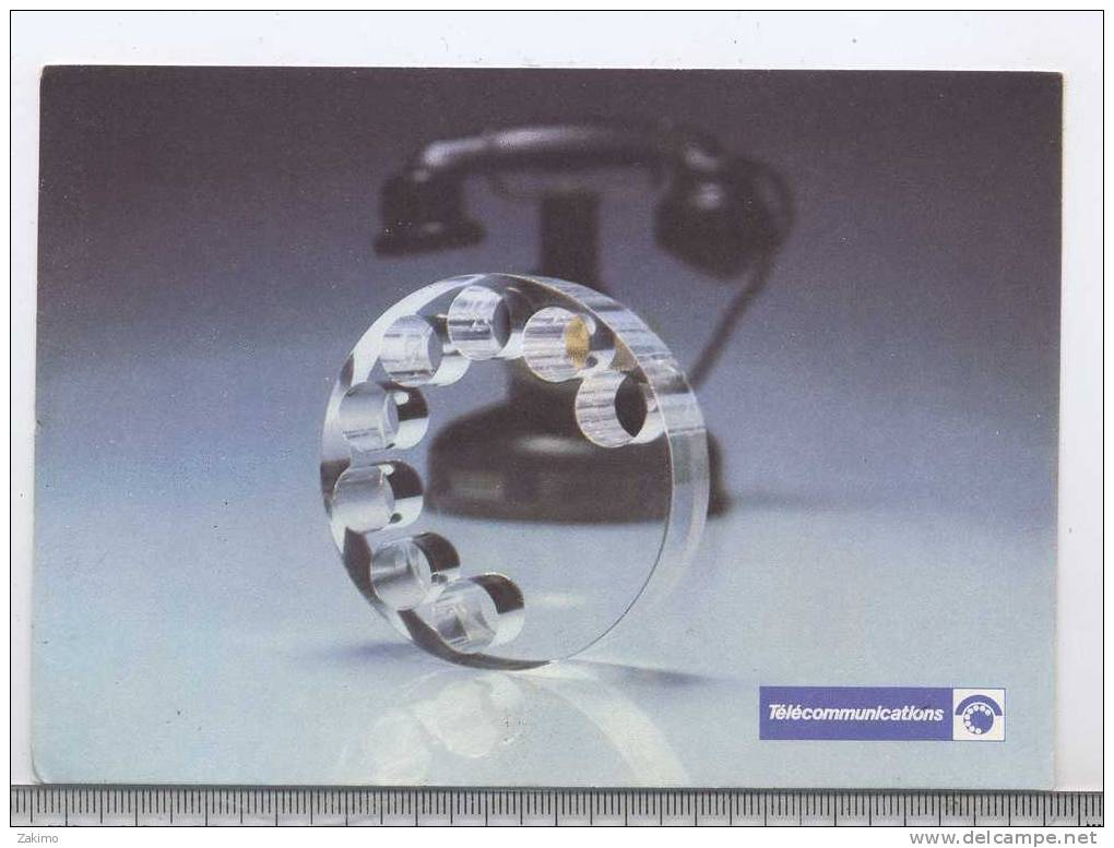 PTT TELECOM --------RECTO  / VERSO---T2 - Advertising