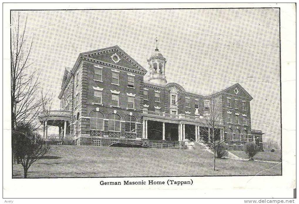 German Masonic Home Tappan - New York - Unclassified