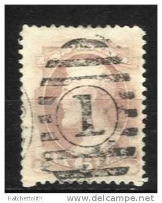 USA  1870 Michel No.; 39 A. Lincoln 6 C. Cancelled - 1847-99 Emissions Générales