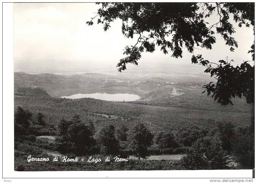 Genzano Di Roma - Lago Di Nemi - Unclassified