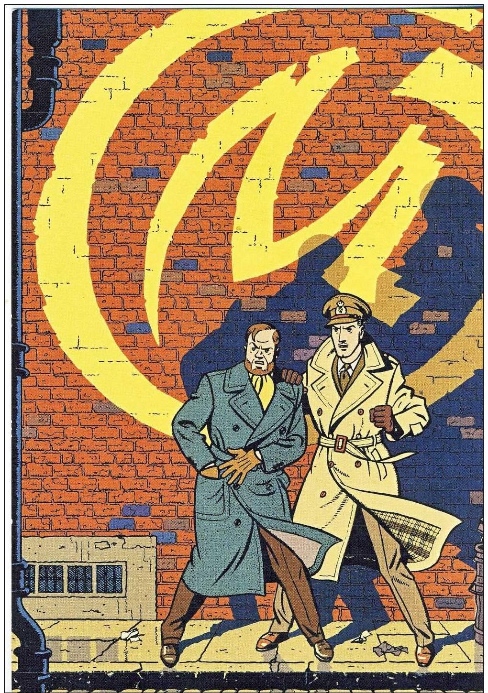 Carte Postale Blake Et Mortimer. Le Soir. - Postcards